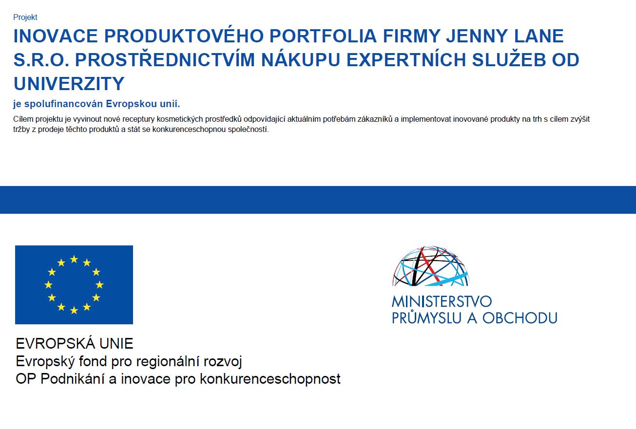 Jenny Lane - inovace