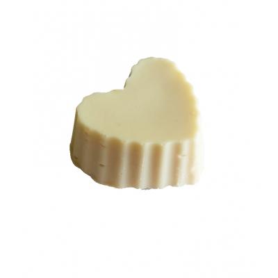 Olivové mýdlo na čištění štětců srdce